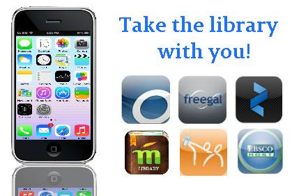 24/7 Access to Your Library Through Free Apps
