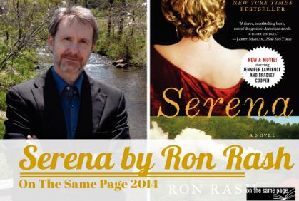 On The Same Page 2014: Serena by Ron Rash