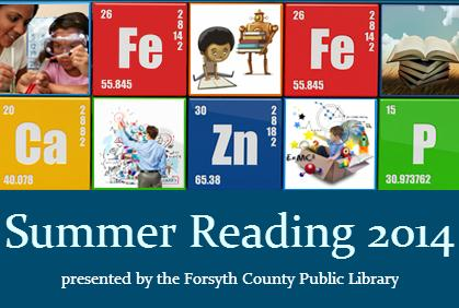 Forsyth County Public Library - 2014 Summer Reading