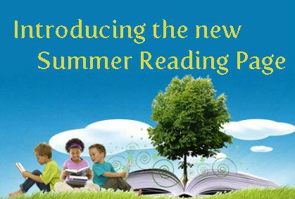The New Summer Reading Page is Here!