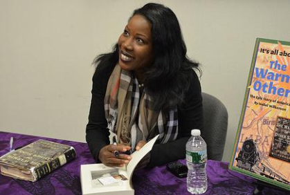 Author Isabel Wilkerson book signing 10/22/2012