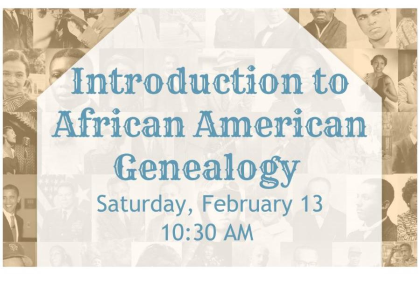 African American Genealogy
