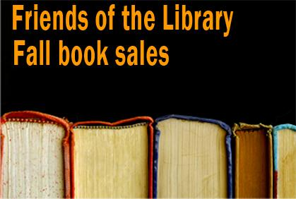 Get ready for fall Friends of the Library book sales