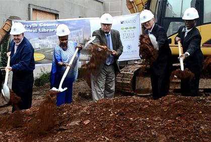 Groundbreaking Ceremony Held for Renovated Central Library