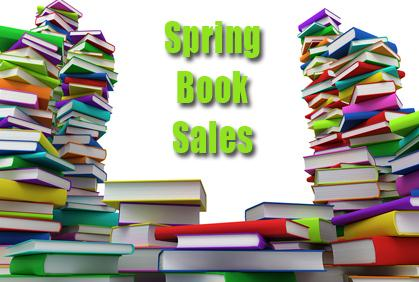 Spring Friends of the Library Book Sales