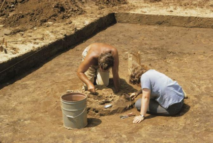 Archaeological Investigations of the Saura Indians in Stokes County