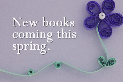 New Books For April and May