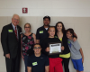 Child Receives Citizenship Award from Sheriff William T. Schatzman