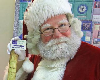 Santa Visits Walkertown Library!