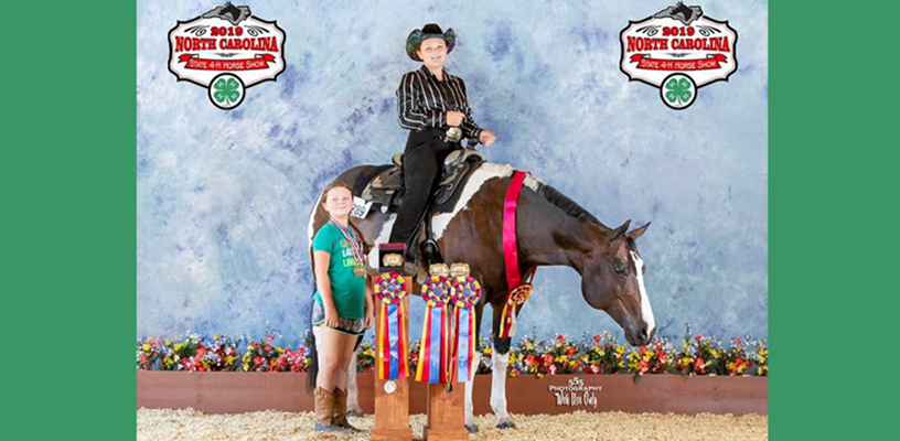 2019 Forsyth Results from State 4-H Horse Show