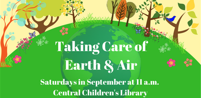 September Saturday Storytime Series at Central