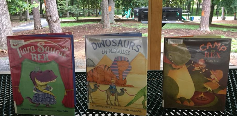 Enjoy Storytime in the Great Outdoors with our Monthly Storytime at the Park