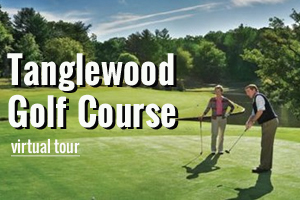 Tanglewood Golf Courses - take a virtual tour.