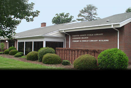 Clemmons Library Computer Maintenance on August 7th