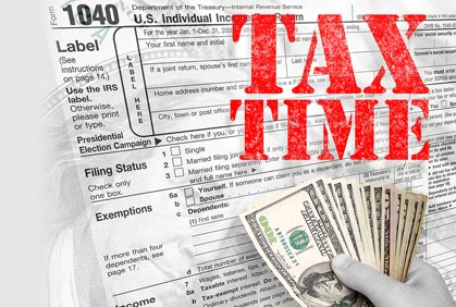 Free Tax Assistance at the Library Starting in Early February.