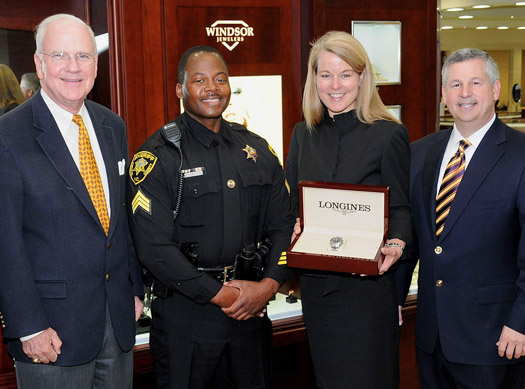 Officer of the Year Awarded