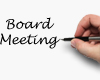 Notice of Board of Elections Meeting