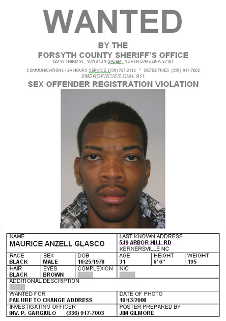 Forsyth county sex offender